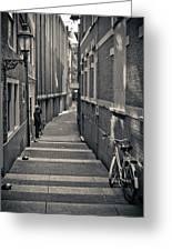 Amsterdam Greeting Card by Adam Romanowicz