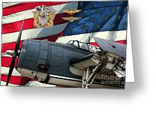 An American Tbf Avenger Pof Greeting Card by Tommy Anderson