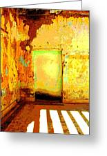 Ancient Wall 8 By Michael Fitzpatrick Greeting Card by Olden Mexico