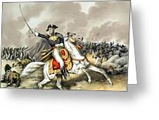 Andrew Jackson At The Battle Of New Orleans Greeting Card by War Is Hell Store