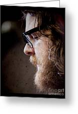 Andy Hull Of Manchester Orchestra Greeting Card by Dustin K Ryan
