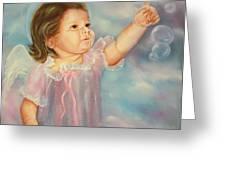 Angel Baby Greeting Card by Joni McPherson