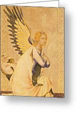 Angel Gabriel  Greeting Card by Simone Martini