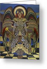 Angel Greeting Card by Jane Whiting Chrzanoska