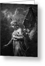 Angel Greeting Card by Marc Huebner
