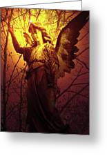 Angel Of Bless No. 03 Greeting Card by Ramon Labusch