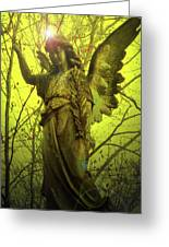Angel Of Bless No. 04 Greeting Card by Ramon Labusch
