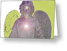 Angel Of Devotion No. 09 Greeting Card by Ramon Labusch
