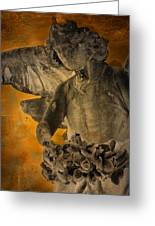 Angel Of Mercy Greeting Card by Larry Marshall