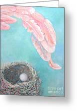 Angel's Nest Greeting Card by Ana Maria Edulescu