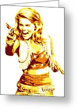 Ann Margret Greeting Card by DB Artist