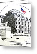 Annapolis - Naval Academy Greeting Card by Frederic Kohli