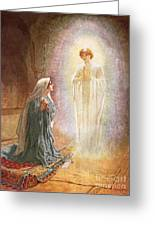Annunciation Greeting Card by William Brassey Hole