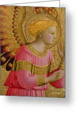 Annunciatory Angel Greeting Card by Fra Angelico