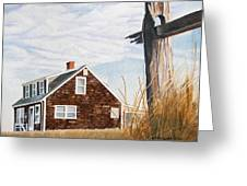 Another New England Sunrise Greeting Card by Dominic White