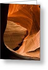 Antelope Canyon No 3 Greeting Card by Adam Romanowicz