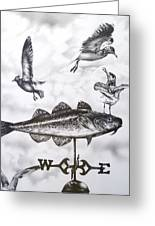 Any Way The Wind Blows Greeting Card by Michael Lee Summers