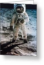 Apollo 11: Buzz Aldrin Greeting Card by Granger