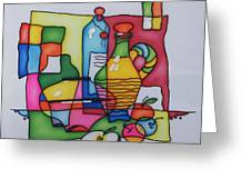 Apple Wine Greeting Card by Tatiana  Antsiferova