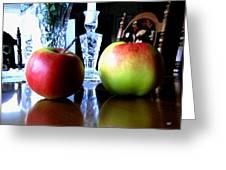 Apples Still Life Greeting Card by Will Borden