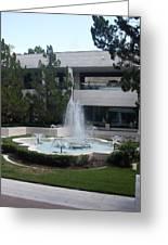 Appleton Fountain Greeting Card by Warren Thompson