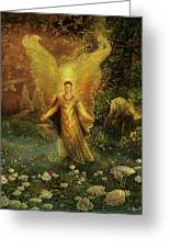 Archangel Azrael Greeting Card by Steve Roberts