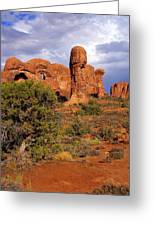 Arches 14 Greeting Card by Marty Koch