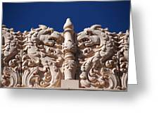Architecture At The Lensic Theater In Santa Fe Greeting Card by Susanne Van Hulst