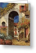 Arco Al Buio Greeting Card by Guido Borelli