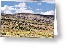 Arizona Hills Greeting Card by Ryan Kelly
