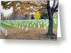 Arlington National Cemetery Virginia Greeting Card by Brendan Reals