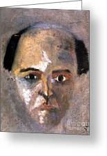 Arnold Schoenberg Greeting Card by Granger