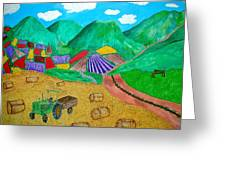 Aromatic Harvest Greeting Card by Sandy Wager