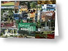Around Mason 3 Greeting Card by Robert Glover