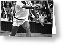 ARTHUR ASHE (1943-1993) Greeting Card by Granger