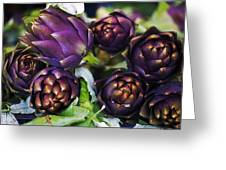 Artichokes  Greeting Card by Joana Kruse