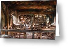 Artist - Potter - The Potters Shop  Greeting Card by Mike Savad