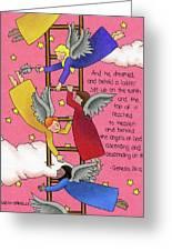 The Ladder Greeting Card by Sarah Batalka