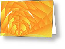 As The Cyber Sun Shrinks And Sets Greeting Card by Michael Skinner