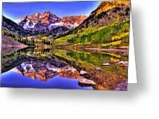 Aspen Wonder Greeting Card by Scott Mahon