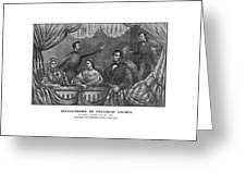 Assassination Of President Lincoln Greeting Card by War Is Hell Store