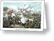 Assault On Fort Sanders Greeting Card by War Is Hell Store