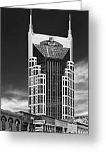 At And T Nashville Greeting Card by Ian Barber