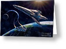 At Corealla Greeting Card by Stu Shepherd