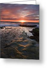 At The Horizon Greeting Card by Mike  Dawson