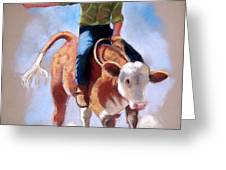 At The Rodeo Greeting Card by Joyce Geleynse