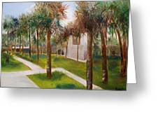 Atalaya Huntington Beach Sc Greeting Card by Phil Burton