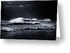 Atlantic Ocean Greeting Card by Dapixara Art
