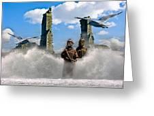 Atlantis Greeting Card by Brian Roscorla
