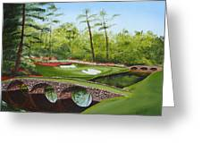 Augusta Golf Course Greeting Card by Kimber  Butler